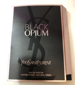 Authentic New Yves Saint Laurent YSL Black Opium Eau de Parfum SAMPLE Size 1.5ml