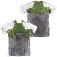 SESAME STREET OSCAR THE GROUCH COSTUME Halloween Adult Men's Tee Shirt SM-3XL