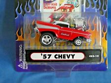 MUSCLE MACHINE FUNLINE 1:64 57' CHEVY C02-19