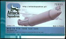 Attack Squadron Models 1/72 MIKOYAN MiG-29 PTB 1500 CENTERLINE FUEL TANK