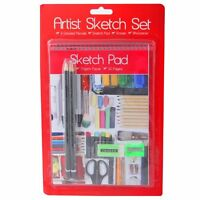 7 PIECE ART STATIONERY SKETCHING & DRAWING ARTIST SKETCH SCHOOL SET - 5144