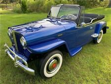 1949 Willys Jeepster Chrome