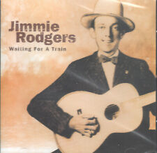 Waiting for a Train by Jimmie Rodgers (CD, 2007) Import/Country Balladeer/Sealed