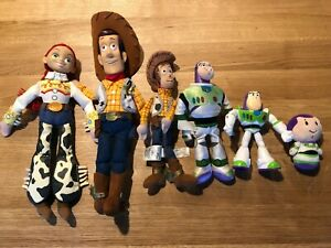 Pixar's Toy Story Toys Various (Woody, Buzz Lightyear & Jessie) 6 toys in total