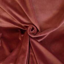 9 Metres Designer Luxurious Soft Velvet Curtain  Fabric In Pink Blush