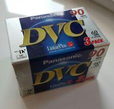 Panasonic DVC bandes 60 m 3 Pack