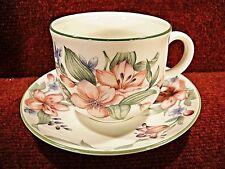 "ROYAL DOULTON EXPRESSIONS ""CARMEL"" Tea Cup & Saucer"