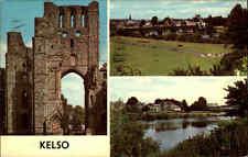 Great Britain Postcard color más imagen-ak 1978 Kelso Inglaterra postal color
