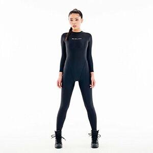 REALISE Swimsuit [FB-1] 2way cat suit (easy stretch) (M, BLACK)