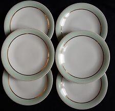 B'/ Lot x6 assiettes plates GEORGES BOYER Porcelaine de LIMOGES (lot n°5)