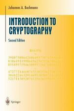 Introduction to Cryptography by Johannes Buchmann (2004, Paperback, Revised)