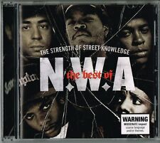 N.W.A The Best Of The Strength Of Street Knowledge CD 2006 US Hip Hop/Gangsta