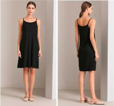 Eileen Fisher Viscose Slip Dress  New