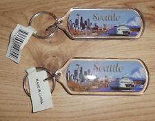 Seattle Schlüsselanhänger, Souvenier aus Seattle - Neuwertig mit Etikett !