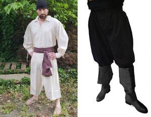 SCA LARP 18th Century Pirate Sailor Whaler Slops Garment Dyed Organic USA Cotton