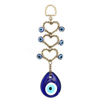 Turkish Blue Glass Evil Eye Amulet Wall Hanging Home Decoration Lucky Protect