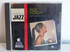 CD ALBUM BILLIE HOLIDAY Feat LESTER YOUNG Génies du jazz JA CD 2005