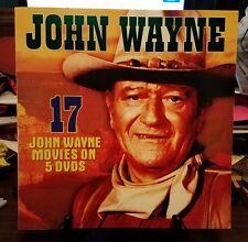 Pre-owned ~ John Wayne ~ 17 John Wayne Movies on 5 DVDS