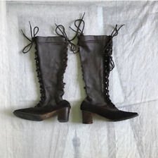 1960s/1970s Brown Leather and Suede Boots