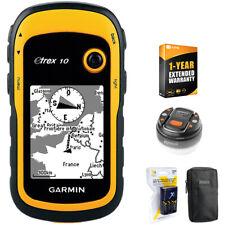 Garmin eTrex 10 Worldwide Handheld GPS Navigator 32GB Accessory Warranty Bundle