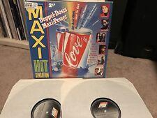 Maxi Hit Sensation 1990 Double Lp Villi Vanilli Technotronic, Bad Boys Blue etc.