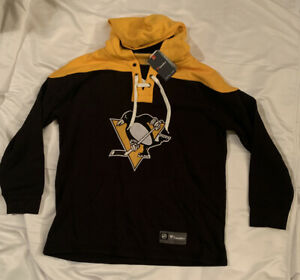 Men's Pittsburgh Penguins Fanatics Branded Franchise Pullover Hoodie XL NWT $110