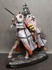 Horseman Knight Tin toy soldier 54 mm 1/32 HAND-PAINTED