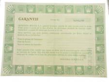 Rolex certificate serial number 3.842.389 genuine garanzia certificato originale