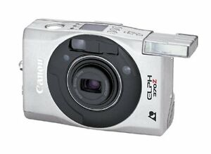 Canon Elph 370Z APS Point & Shoot Film Camera Stainless with 3x Zoom
