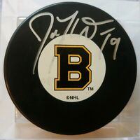 Joe Thornton SIGNED BOSTON BRUINS NHL MADE IN SLOVAKIA HOCKEY PUCK NO COA