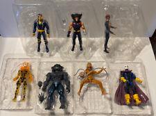 Lot Set of 7 Marvel Legends X-Men Age of Apocalypse Figures No Sugar Man BAF NEW