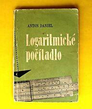 New listing Slide Rule Instructions Book Vintage 1958 Slovak Language Mathematics Graphs