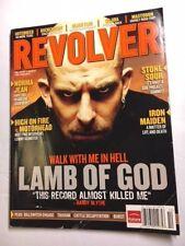 Revolver Oct.2006 Lamb of God Iron Maiden Motorhead Buckcherry Black Flag RARE!