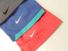 Lot of 3 Nike Mens Dri-Fit Shirt Size Large Moisture Wicking Golf Polo Blue Gray