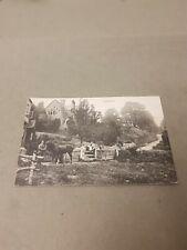 Hoarwithy. Village Scene. Printed Postcard.