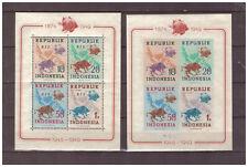 Indomesien 1949 75 Jahre Weltpostverein U.P.U. gezähnt, geschnitten postfrisch