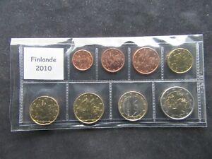 Série 1ct-2 Euro Finlande 2010 Neuve Sous Pochette