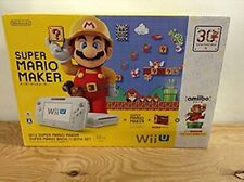 Wii U Super Mario Maker the 30th Anniversary Set From Japan Excellent