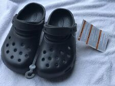Crocs Ralen Cloggs XL 1 2 20cm slipper thongs baby boy sandal birthday xmas gift
