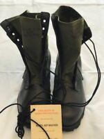 Genuine Post Vietnam vintage Spike Protective Jungle Boots US GI New 7 1/2