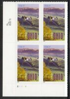 Sc # 3773 ~ Plate Block ~ 37 cent Ohio Statehood Issue (da14)