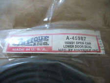 1928-31 FORD OPEN CAR LOWER DOOR SEAL A-45987