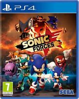 Sonic Forces PS4 New and Sealed
