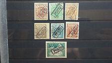 """Polen 1919 / Porto Briefmarken """" 3 H  - 1K / Sonder Stempel Ausgabe – Krakau / U"""