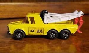 """1974 Lesney Matchbox Superkings K-6/11 Pick-up Truck Twin Boom Wrecker Tow AA 5"""""""