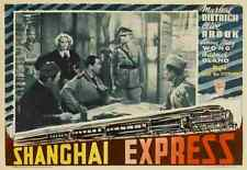 Shanghai Express 07 Film A3 Poster Print Poster