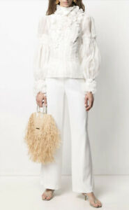 Zimmermann Botanica Wattle blouse Top - New With Tags- RRP$1,100 AUD