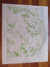 La Grange Missouri 1959 Original Vintage USGS Topo Map