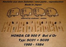 Honda CB 900 F SC01 + SC09 Bol d´Or Vergaser - Rep-Sets carburator repair kit