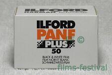 3 rolls ILFORD PANF PLUS 50 black and white Film 35mm 36exp FREESHIP